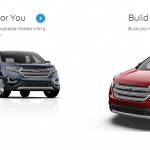 Ford Edge Build Your own Vehicle. (3d/Comp)