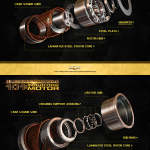 GM Electric Motor Stills. Maya, Mental Ray, Photoshop (CG Me, Design Quintek)