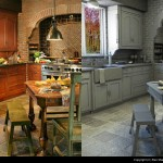 Grey Scale Model and lighting of the kitchen re creation